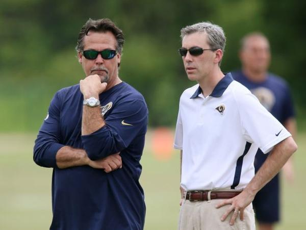 NFL notes: Rams' Demoff is 'inspired' by response to team in LA
