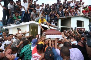 Funeral for Oscar Taveras