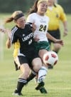 Lafayette v Lindbergh girls soccer