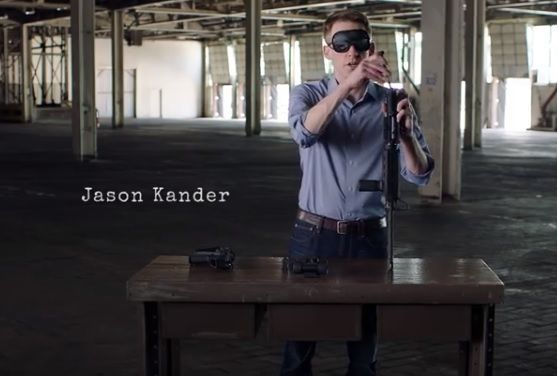Missouri Senate candidate assembles gun blindfolded in TV ad
