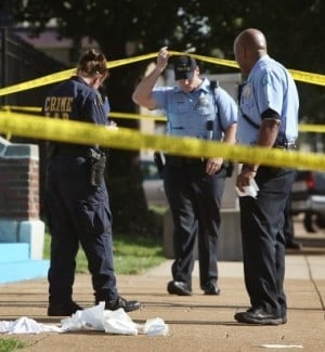 shooting in north St. Louis City