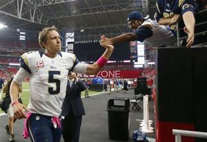 Gordo: Foles' steady play is just what Rams need