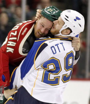 Blues re-sign Ott; Sobotka headed to KHL?