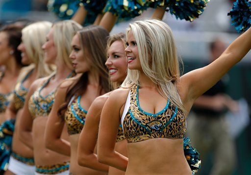The View From The Sidelines Nfl Cheerleaders Gallery