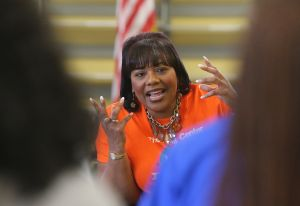 Video: Bernice King visits Riverview Gardens