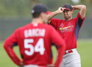 Back on the bump: Cards pitchers face hitters, again