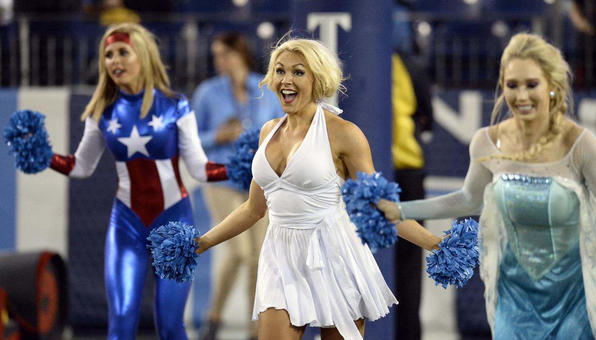 Nfl Cheerleaders Get In The Halloween Spirit Nfl