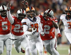Illini suffer more injuries at receiver