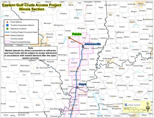 Pipeline May Carry Crude Oil Through Southern Illinois  News