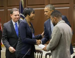 St. Louis activist Packnett on Obama policing commission