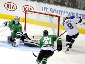 Schwartz matures into impact player for Blues