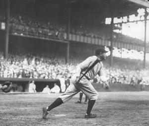 100 years ago today, the 'Babe' hit his first homer
