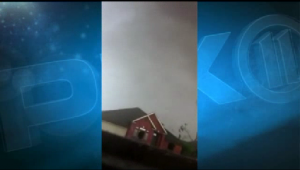 New video captures monster Oklahoma tornado overhead
