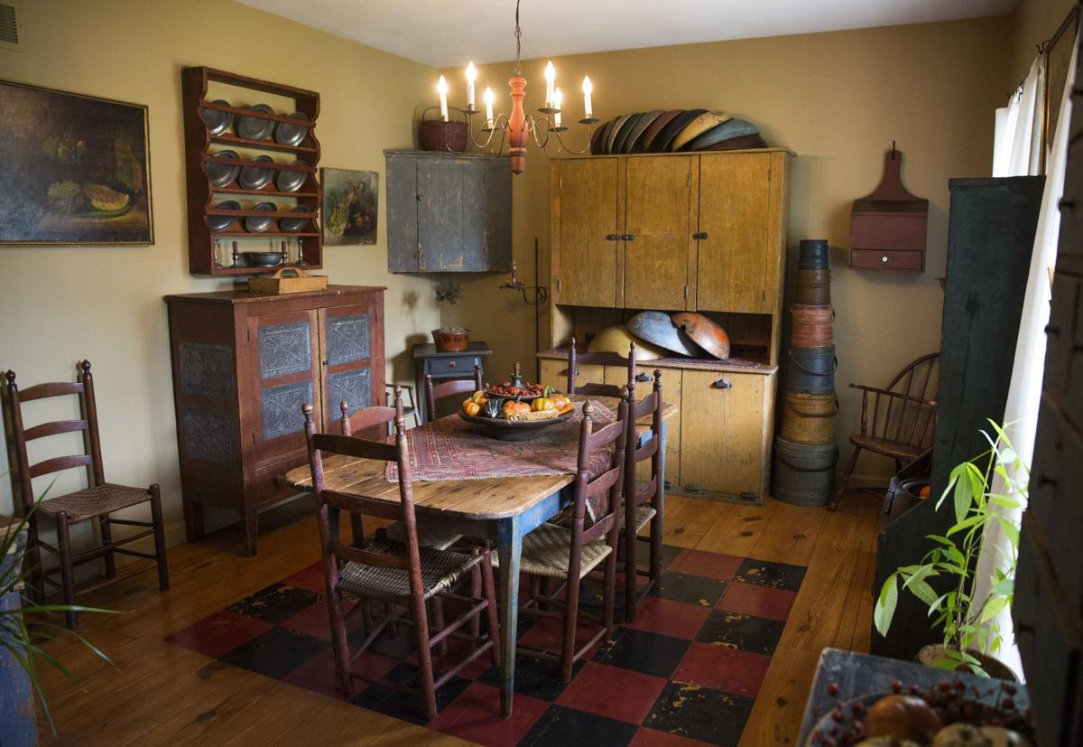 Antique Collector Embraces Early American Primitive Style In Wildwood Home Home And Garden