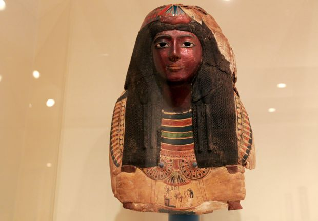 Ancient Egyptian mask likely to stay at St. Louis Art Museum after feds give up legal fight