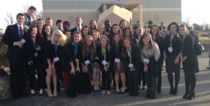 Students excel in state marketing competition