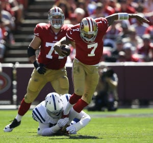 Like the Rams, 49ers are 1-2 and looking for answers