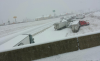 Multiple wrecks clog area roads; 5 to 7 inches of snow on the way