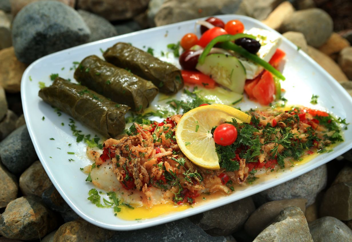 Special request greek church is home to 39 best fish for Greek fish recipes