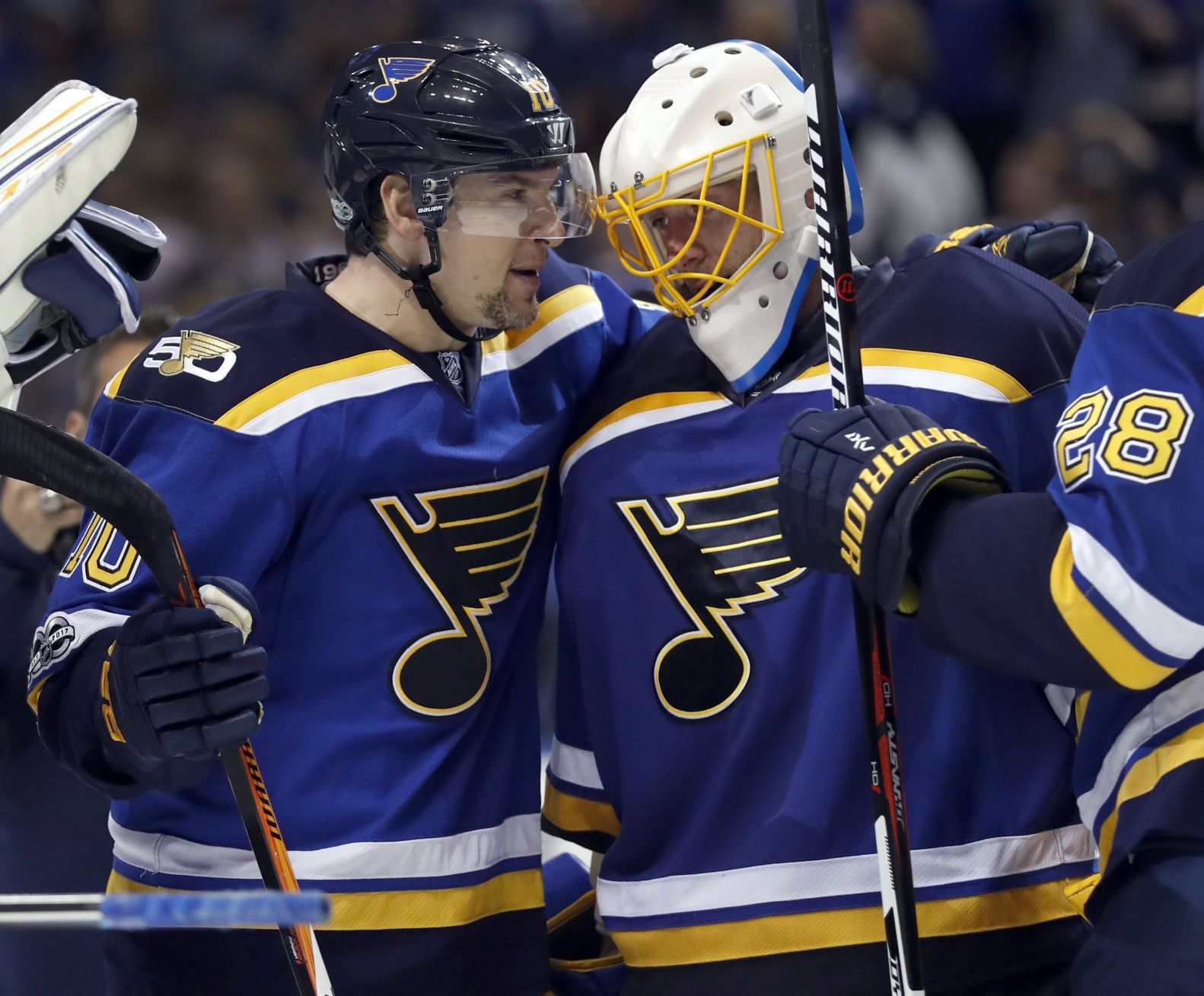 Blues Can't Depend On Puck Luck — They Must Improve