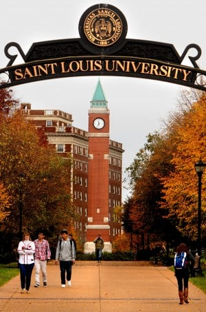 St. Louis University seeks to close Laclede Avenue west of Grand
