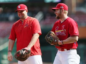 Cards leave Adams off NLDS roster