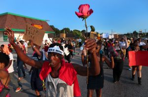 Tuesday's peaceful protests turns chaotic
