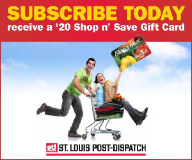 Subscribe to the Post-Dispatch today and SAVE!