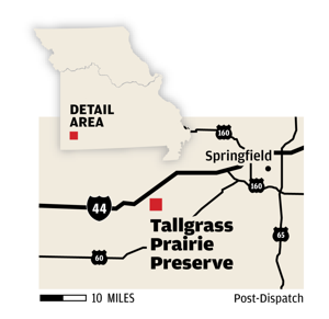 Protected prairie opens to public today