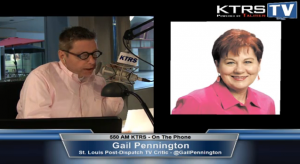 KTRS-TV: Gail Pennington discusses 'The Office'