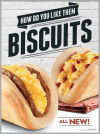 Get a free biscuit taco at Taco Bell this morning - until 11 a.m.