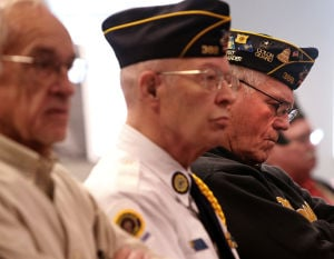 An increasingly familiar sight: WWII ceremonies with no WWII vets present