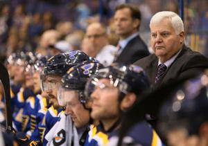 Hitchcock will return as Blues coach