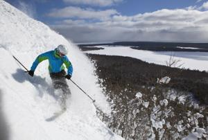 Mount Bohemia offers Midwest's only 'extreme' skiing, great views of Lake Superior