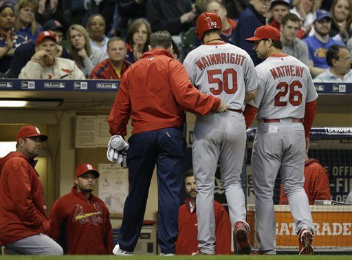 Wainwright out for season with torn Achilles tendon