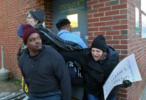 Protesters target Pine Lawn municipal court