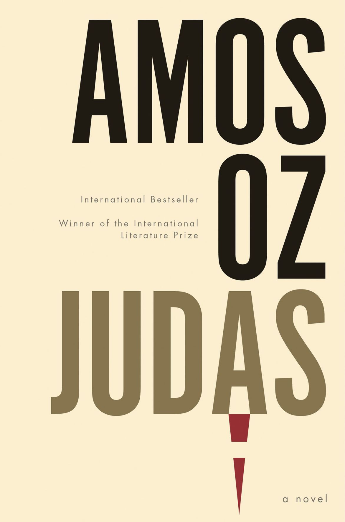 Image result for judas novel amos oz