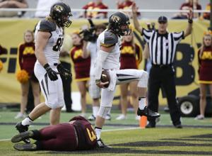 Mizzou Camp Glance: Mauk aims for more