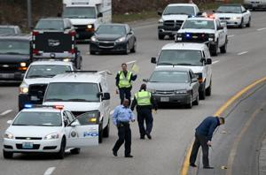 Three held after rolling gun battle in St. Louis that imperiled bystanders