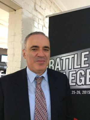 Garry Kasparov visits St. Louis, 'the chess capital,' for weekend challenge