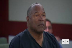 Heavier, gray O.J. Simpson appears in court