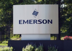 Emerson earnings falls as oil, dollar weigh on profits