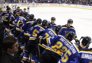 Blues stick to same lineup for Game 3