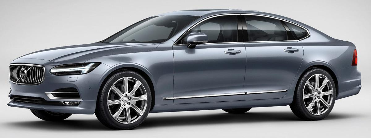 2017 volvo s90 t6 awd who 39 s laughing now automotive. Black Bedroom Furniture Sets. Home Design Ideas