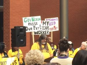 Home health workers fighting for higher minimum wage