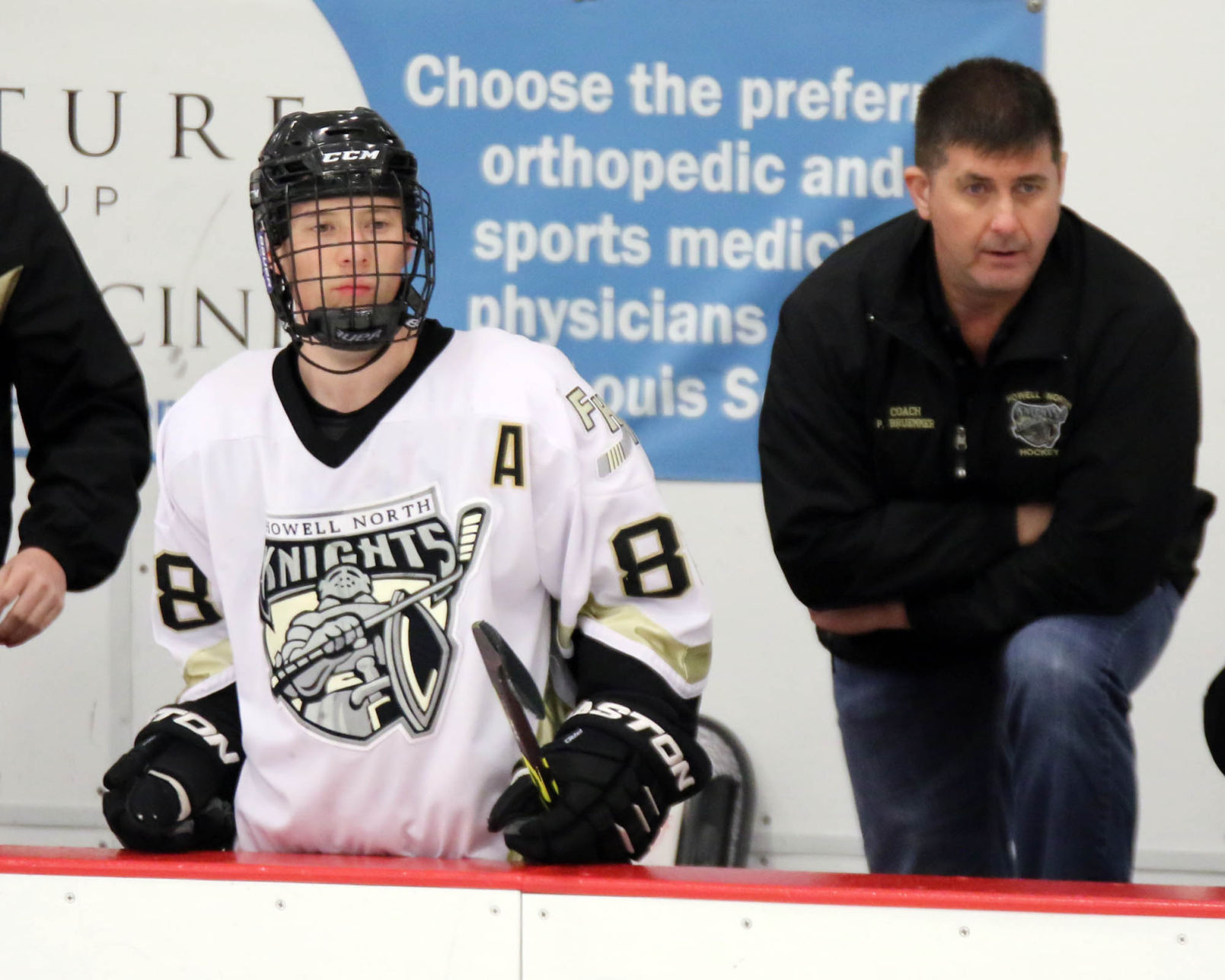 MO H.S.: Howell North Forward Not Scarred By Facial Injury On Ice