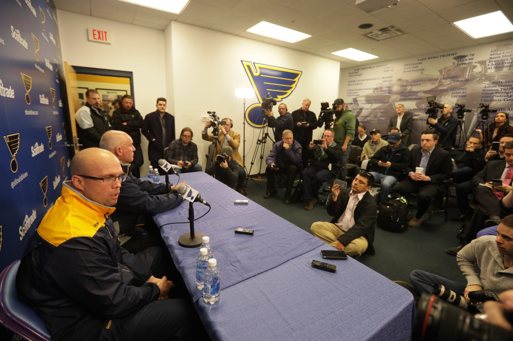Blues Fire Hitchcock, Put Yeo In Charge