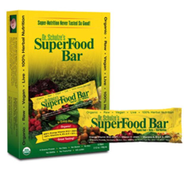 Best bites dr schulze 39 s superfood bar lifestyles for Superfood bar