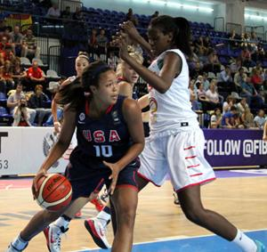 Collier top scorer for U.S. in quarterfinal rout of Canada