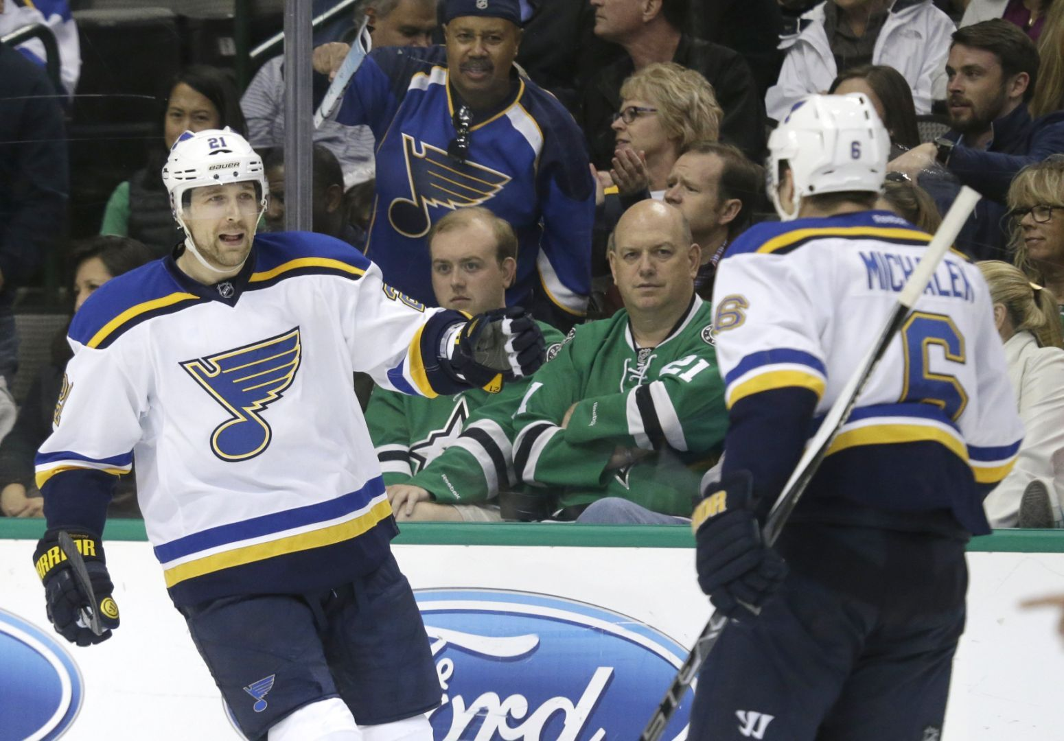 Blues Turn The Tables On Stars